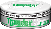 Thunder SLIM White Dry Wintergreen