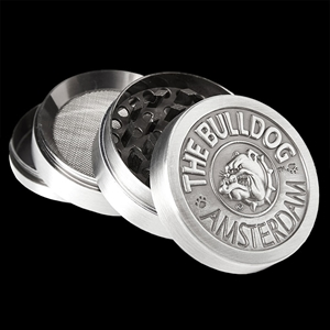 Bulldog - Metal Grinder 4-Part Silver