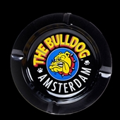 Bulldog - Ashtray Black - Tin