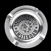Bulldog - Ashtray Silver - Tin