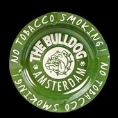 Bulldog - Ashtray Green - Tin
