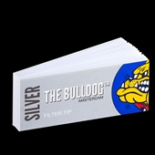 Bulldog - Filter Tips Silver