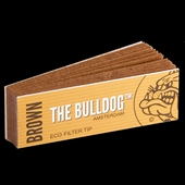 Bulldog - Filter Tips Brown