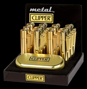 CLIPPER CP-11 Metal Gold + gift box