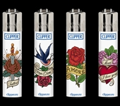 CLIPPER Tattoo Red Roses