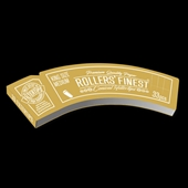 Rollers' Finest Filtertips, KS Medium Gold, booklet