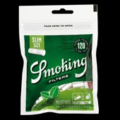 Smoking Filter Menthol Slim 120 stk.