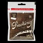 Smoking Filter Brown Slim 120 stk.