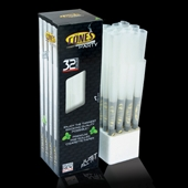 Cones Party Size 32 pack tower - Blackline